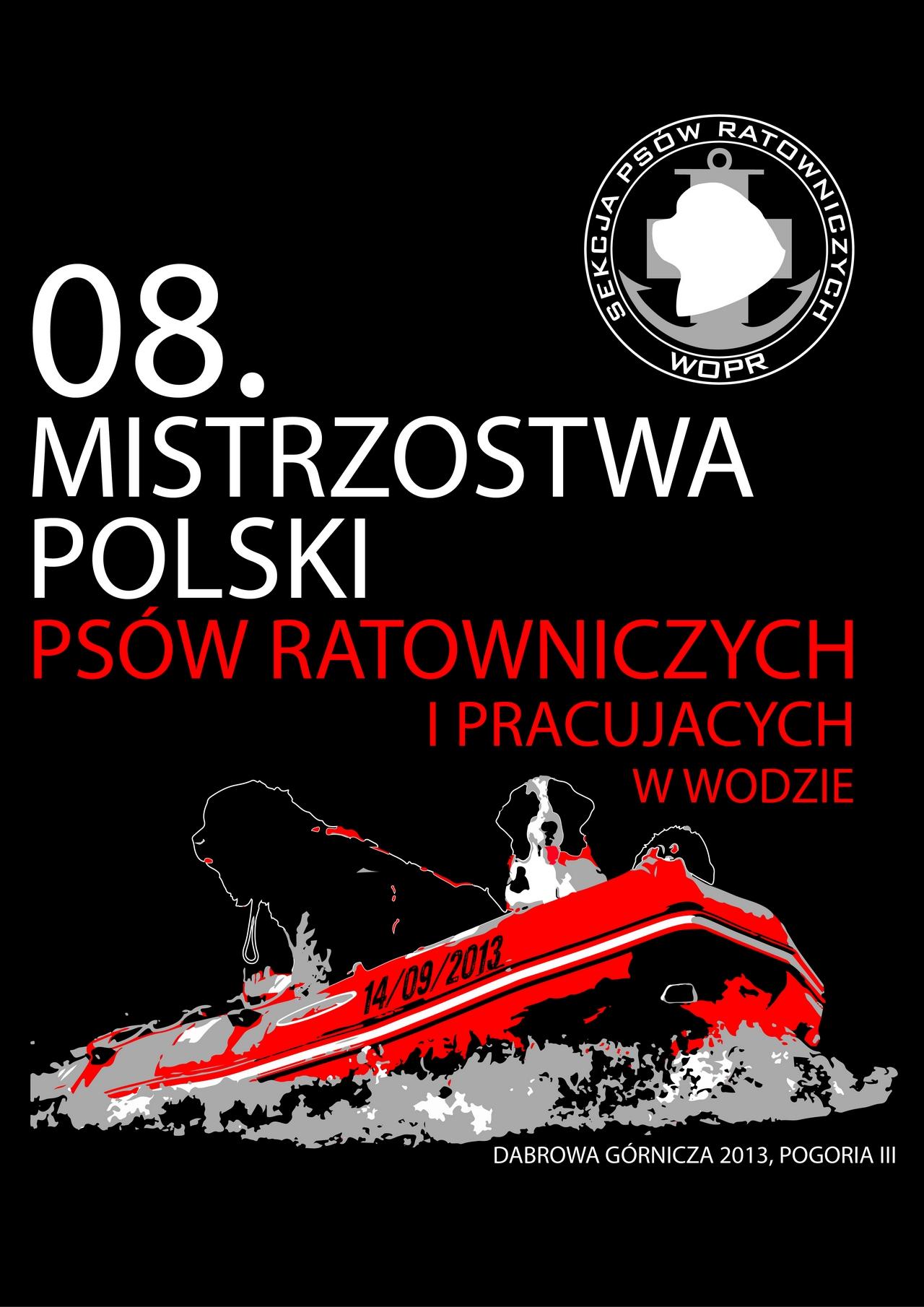 VIII Mistrzostwa Polski Psów Ratowniczych WOPR oraz pokazy Służb Ratowniczych